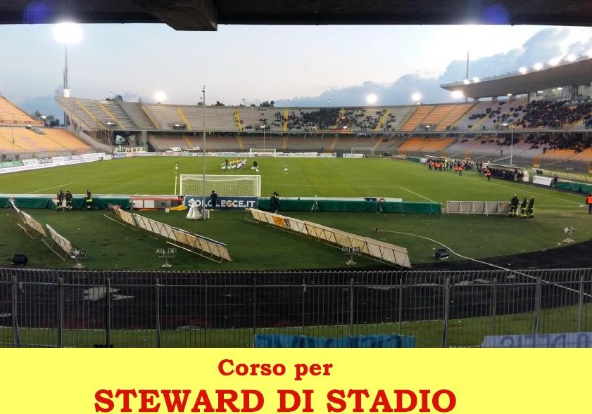 CORSO PER STEWARD DI STADIO - Aperte le iscrizioni