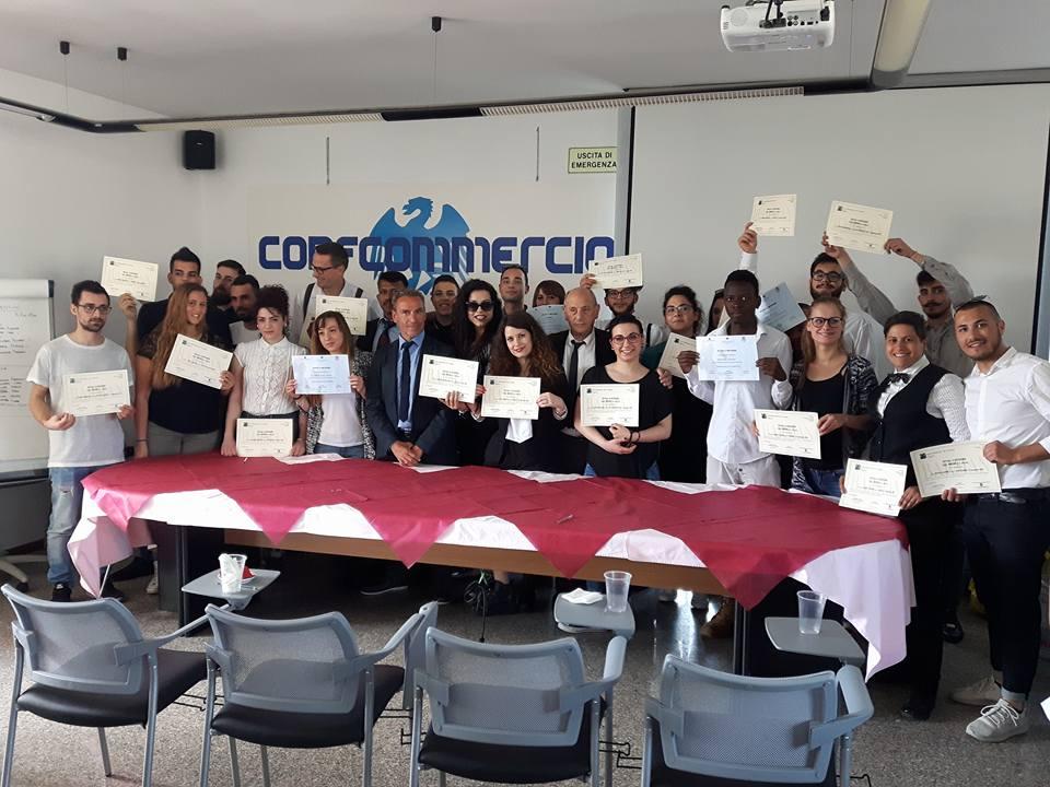 CORSO BARMAN 2017: 29 NUOVI BARMAN PROFESSIONISTI