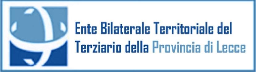 ENTE BILATERALE TERRITORIALE DEL TERZIARIO DI LECCE: INTEGRAZIONE BENEFICIARI BUONI LIBRI DI TESTO E MATERIALE SCOLASTICO 2019/2020