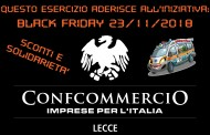 TORNA IL BLACK FRIDAY A LECCE