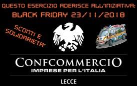 TORNA IL BLACK FRIDAY A LECCE