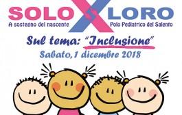 """""""GIORNATA SoloxLoro"""" - 1° Dicembre 2018"""