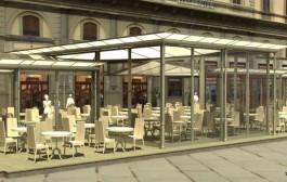 """Arredo urbano dello spazio pubblico per attività stagionali e continuative """"dehors"""""""