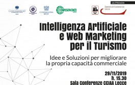 SAVE THE DATE - venerdì 29 novembre 2019 - c/o Camera di Commercio Lecce - Convegno
