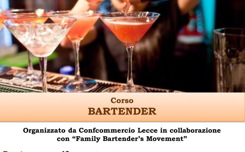Corso per BARTENDER nuova edizione - Start Mercoledì 14 Ottobre
