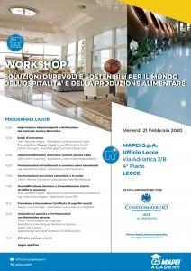 Mapei SpA - Workshop-Confcommercio LE 21.02.2020 Conf