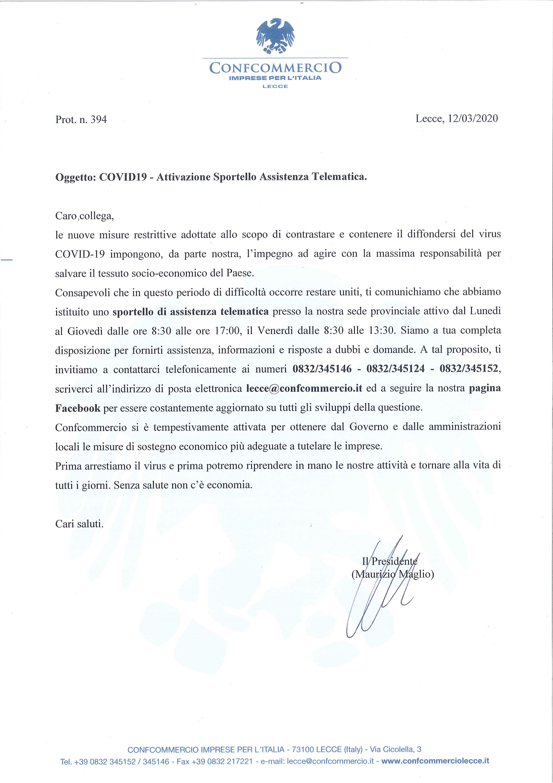 COVID-19   - DPCM 11 marzo 2020