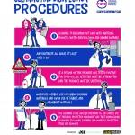 poster procedure di pulizia e disinfezione - EN - STAMPA