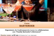 Corso per BARTENDER nuova edizione - Start 3 Maggio 2021